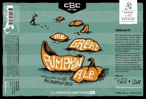 cambridge great pumpkin ale