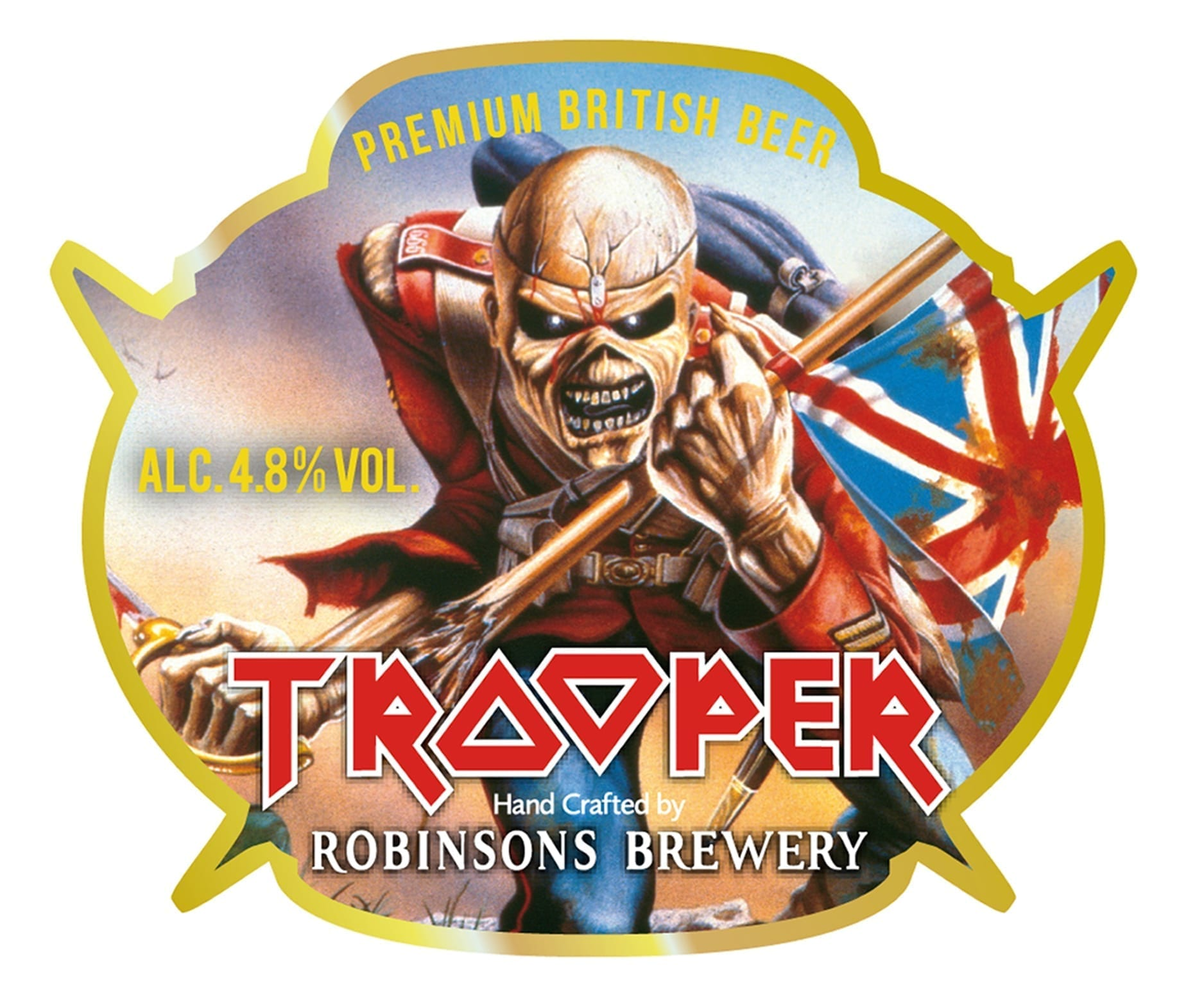 Iron Maiden launch Trooper real ale