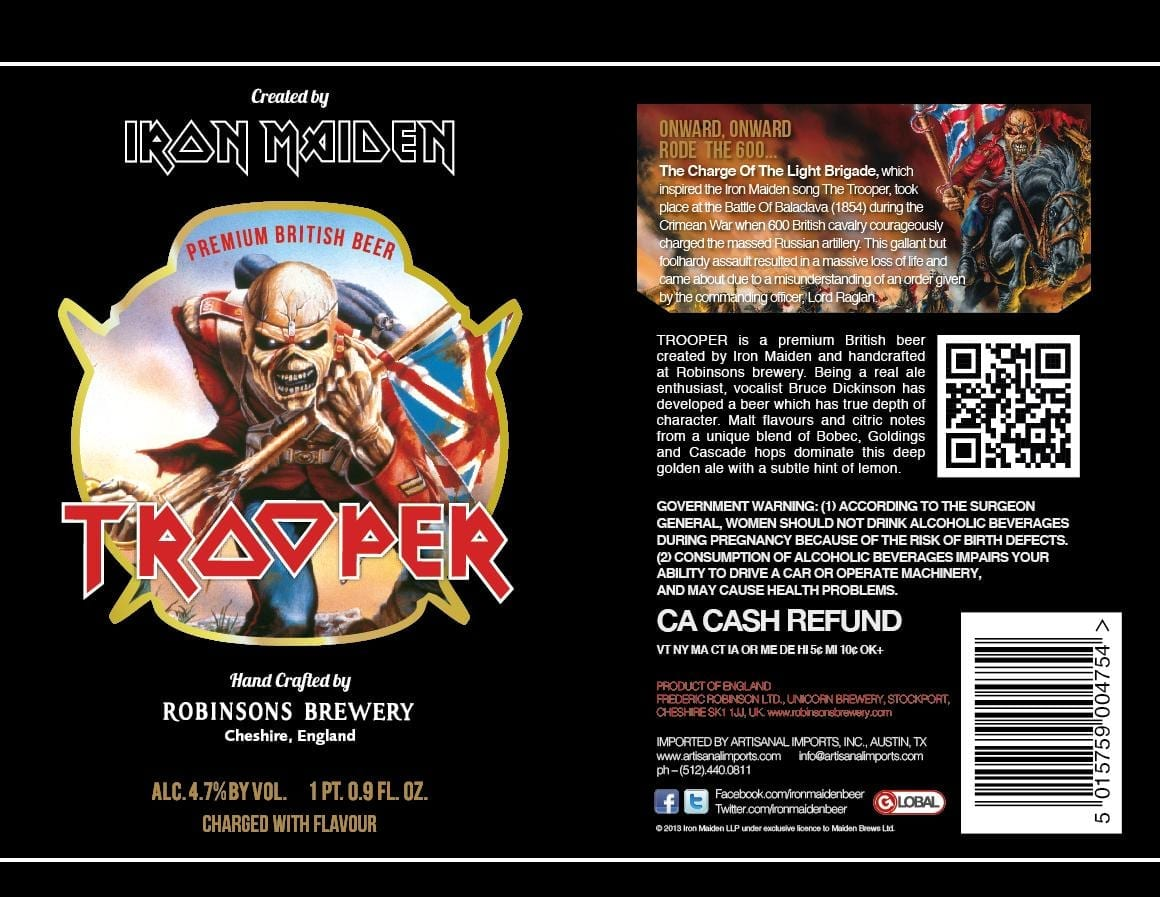 New Trooper Label