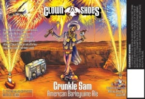 Clown Shoes Crunkle Sam American Barleywine