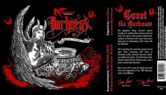 Surly Brewing Darkness 2014