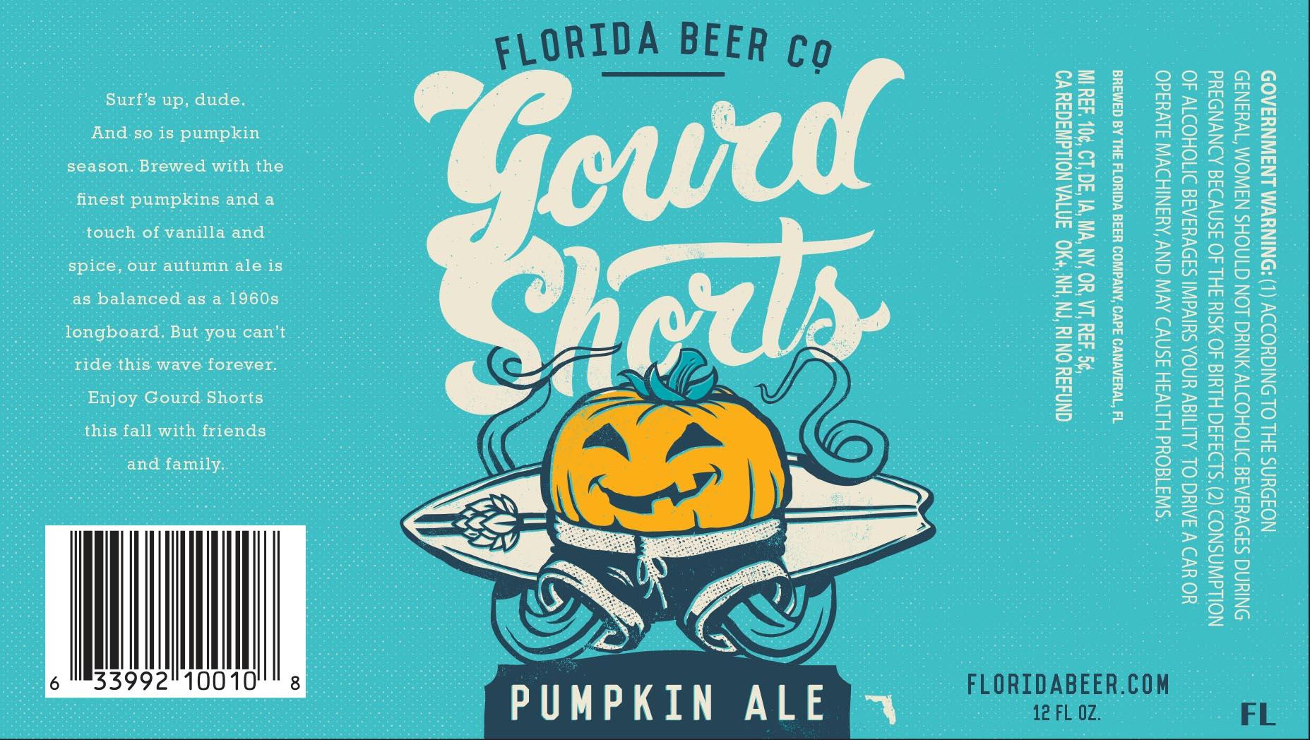 Florida Beer Gourd Shorts