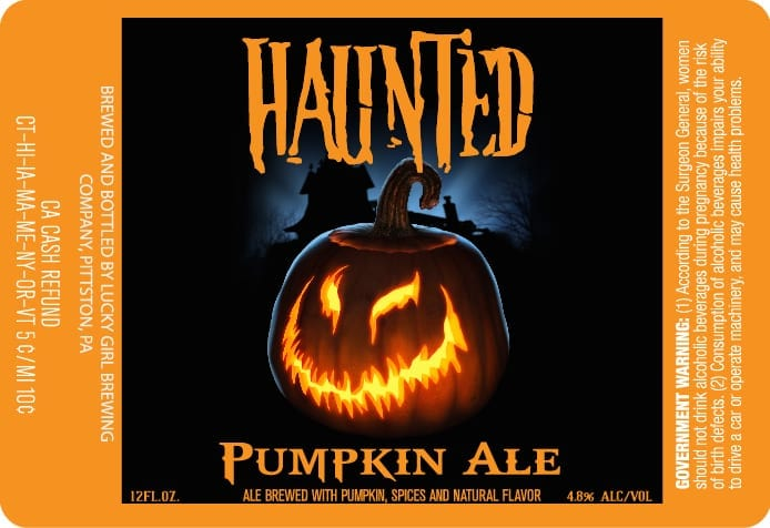 Lucky Girl Pumpkin Ale