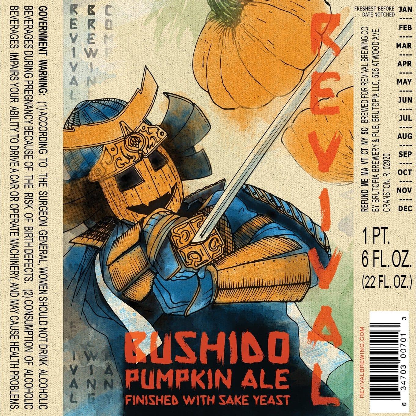 Revival Bushido Pumpkin Ale