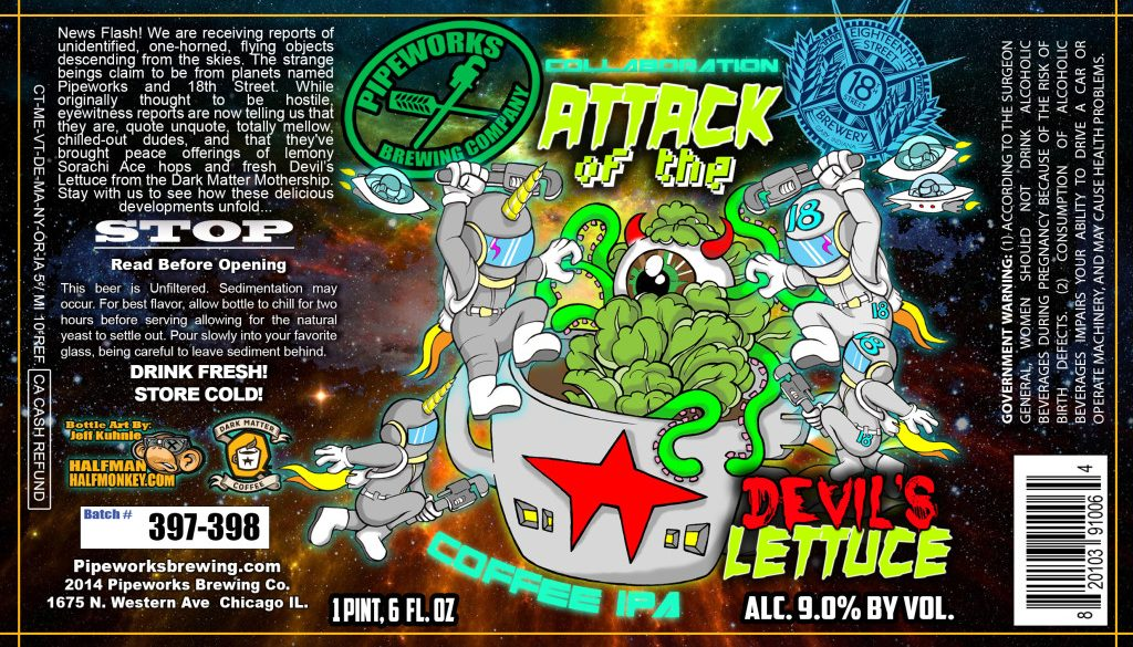 Pipeworks Attack of the Devil's Lettuce