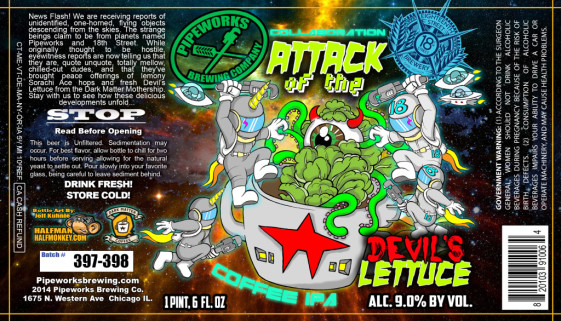 Pipeworks Attack of the Devil's Lettuce