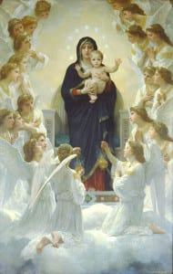 William-Adolphe Bouguereau, The Virgin With Angels [Public domain], via Wikimedia Commons