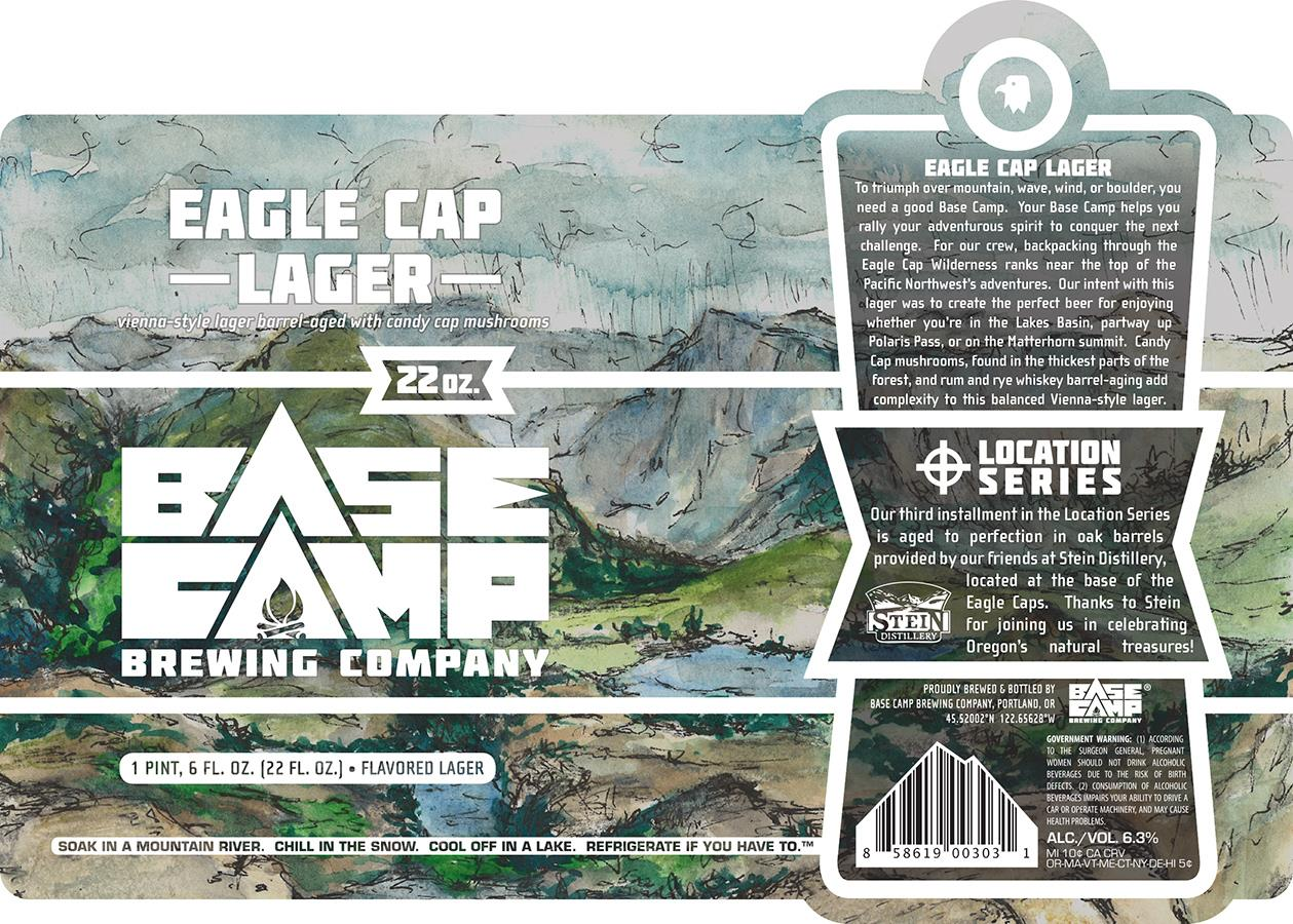 Base Camp Brewing Eagle Cap Lager