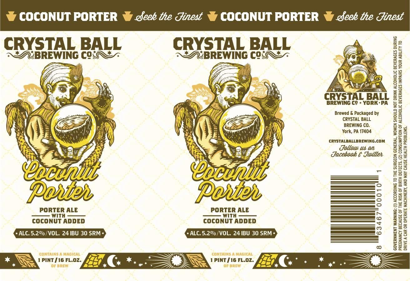 Crystal Ball Coconut Porter