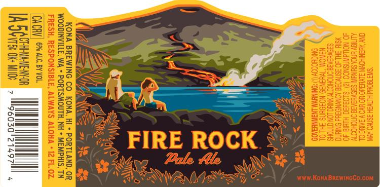 Kona Brewing Company Fire Rock Pale Ale