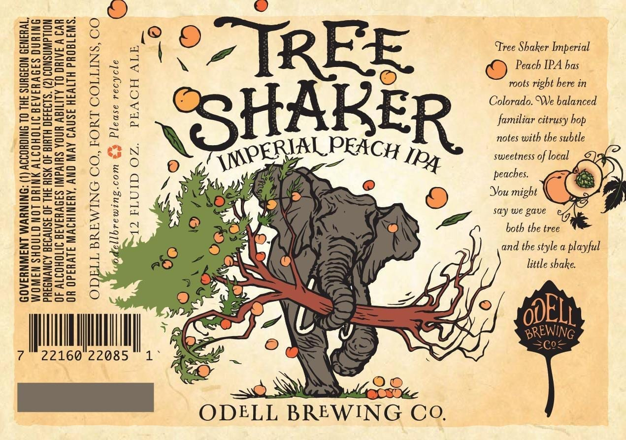 Odell Brewing Company Tree Shaker