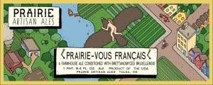 Prairie Artisan Ales Prairie Vous Francais