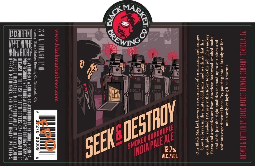 Black Market Brewing Seek & Destroy