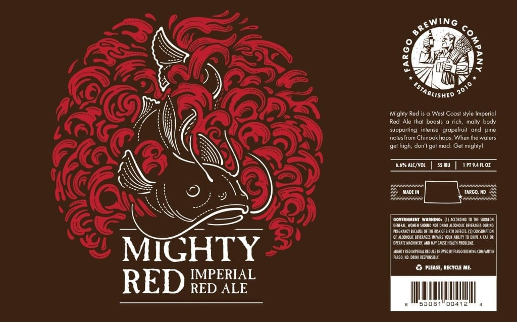FARGO BREWING COMPANY MIGHTY RED