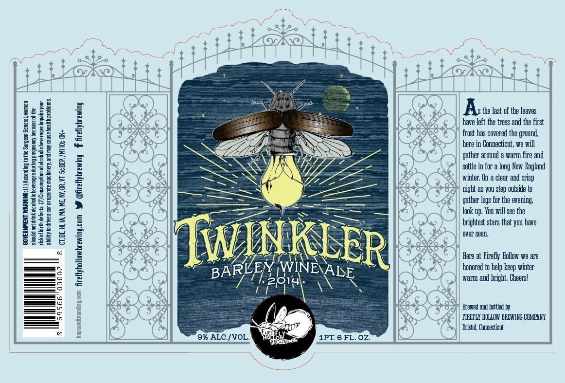 Firefly Hollow Twinkler Barley Wine Ale