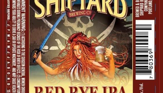 Shipyard Brewing Red Rye IPA