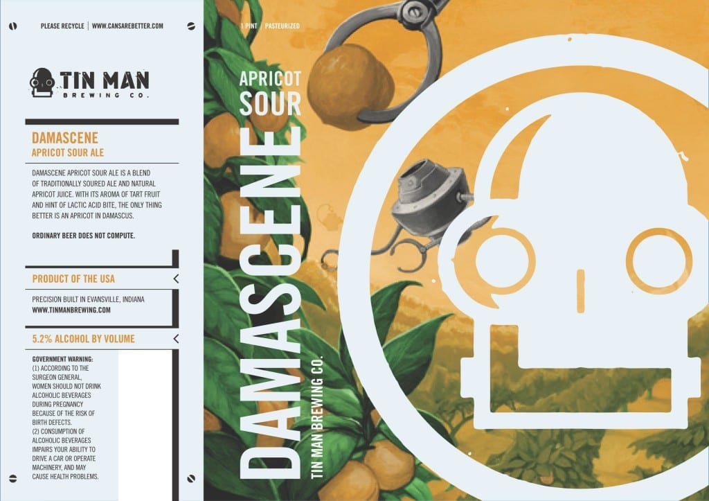 Tin Man DAMASCENE APRICOT SOUR