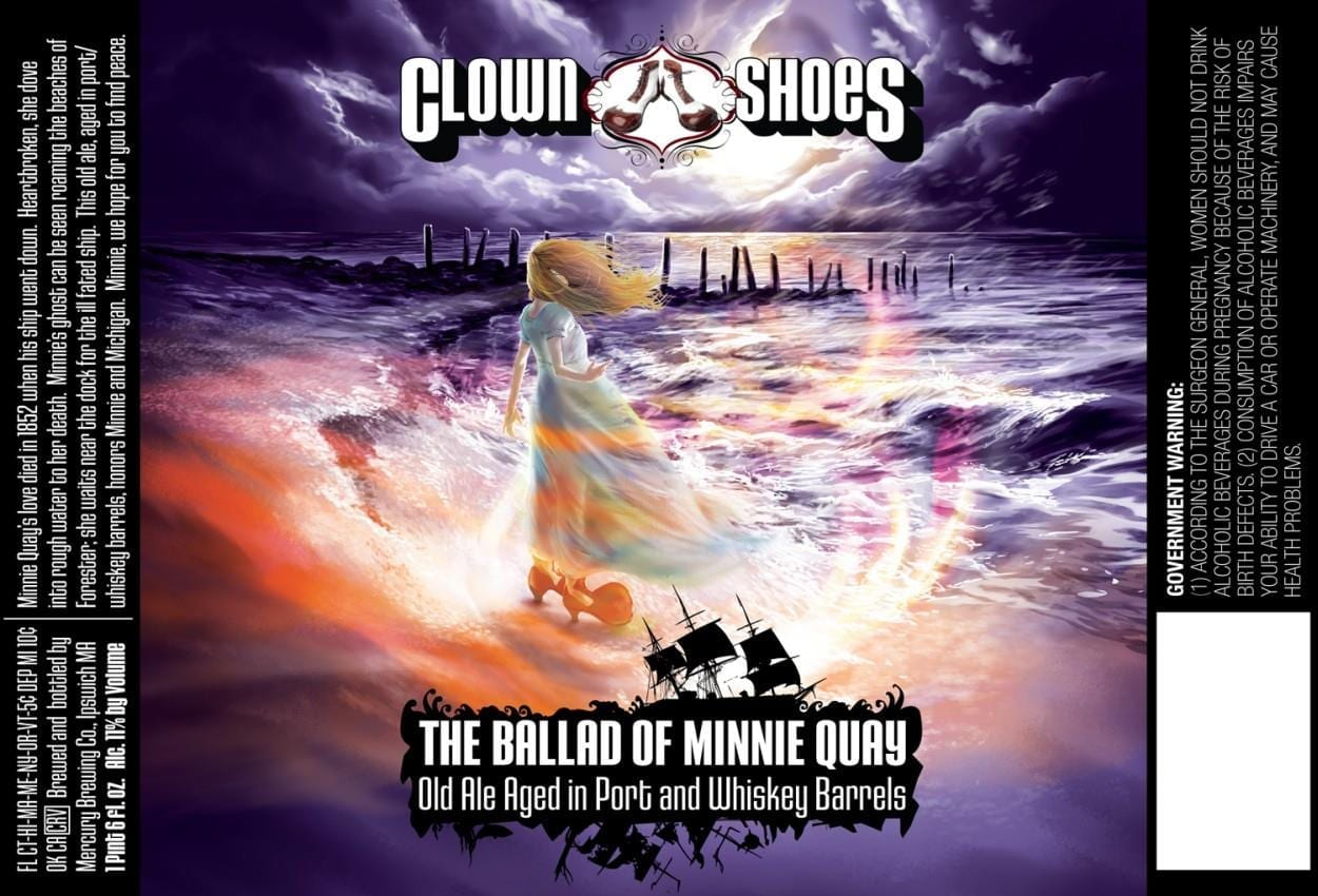 Clown Shoes Ballad Of Minnie Quay Old Ale