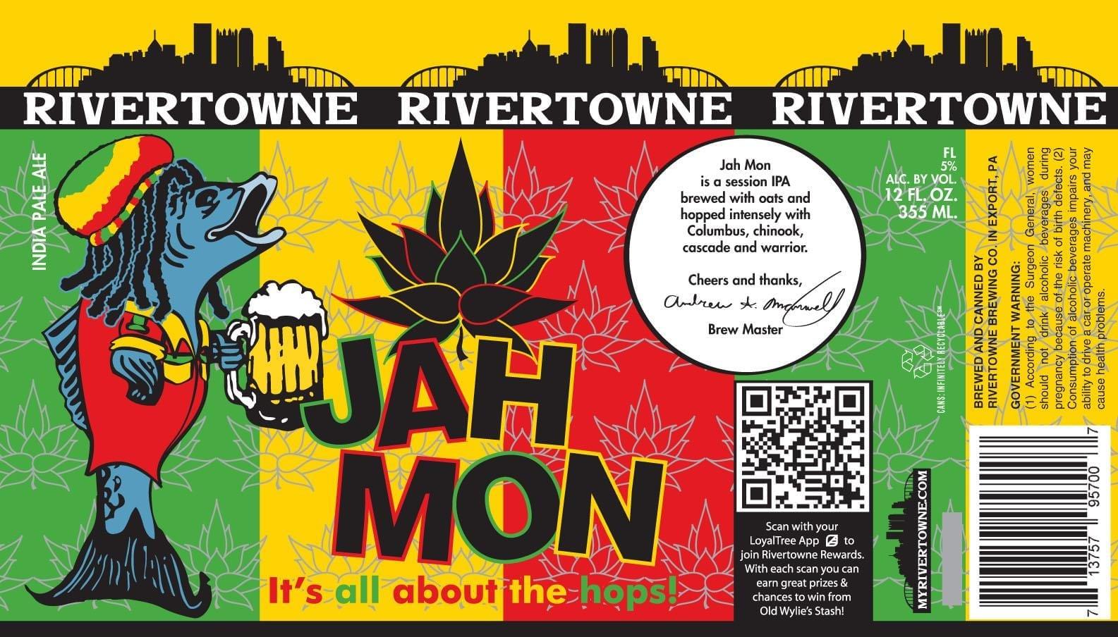 Rivertowne Jah Mon IPA
