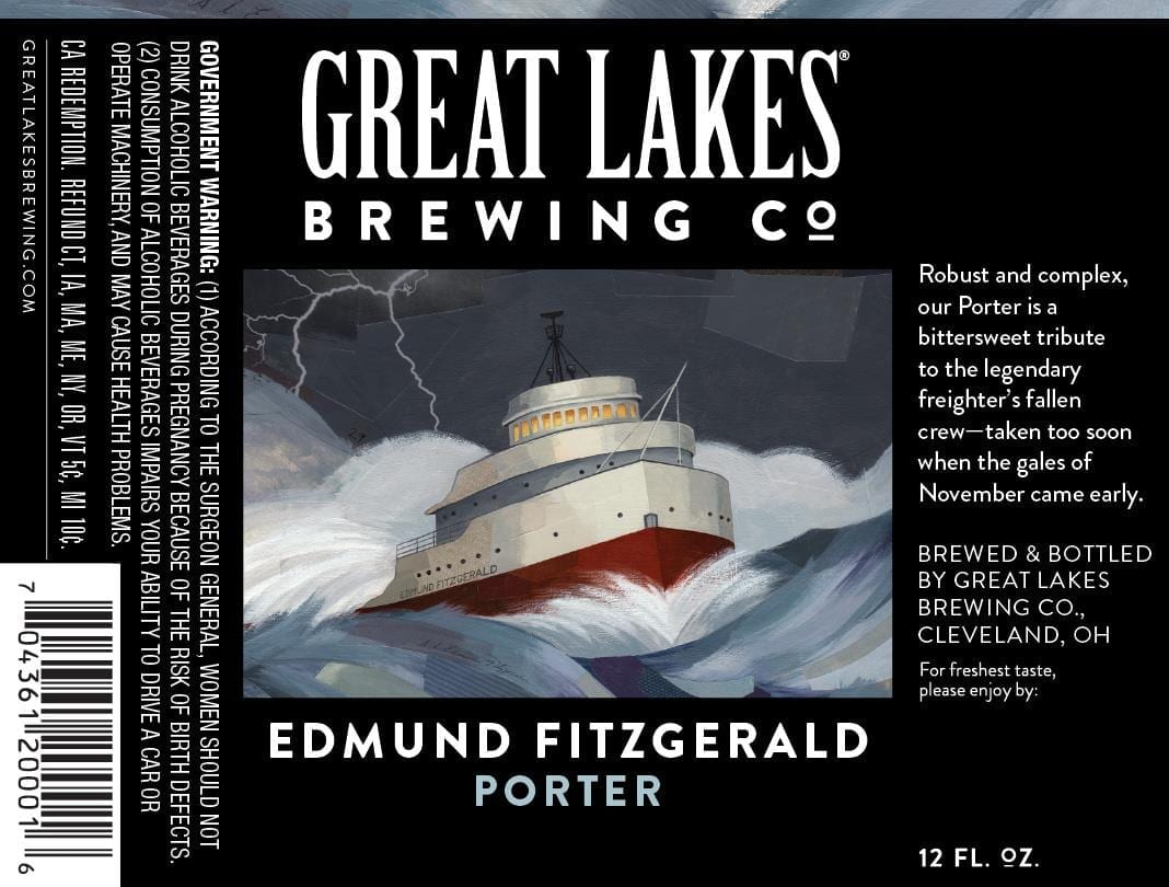 THE GREAT LAKES BREWING CO. EDMUND FITZGERALD