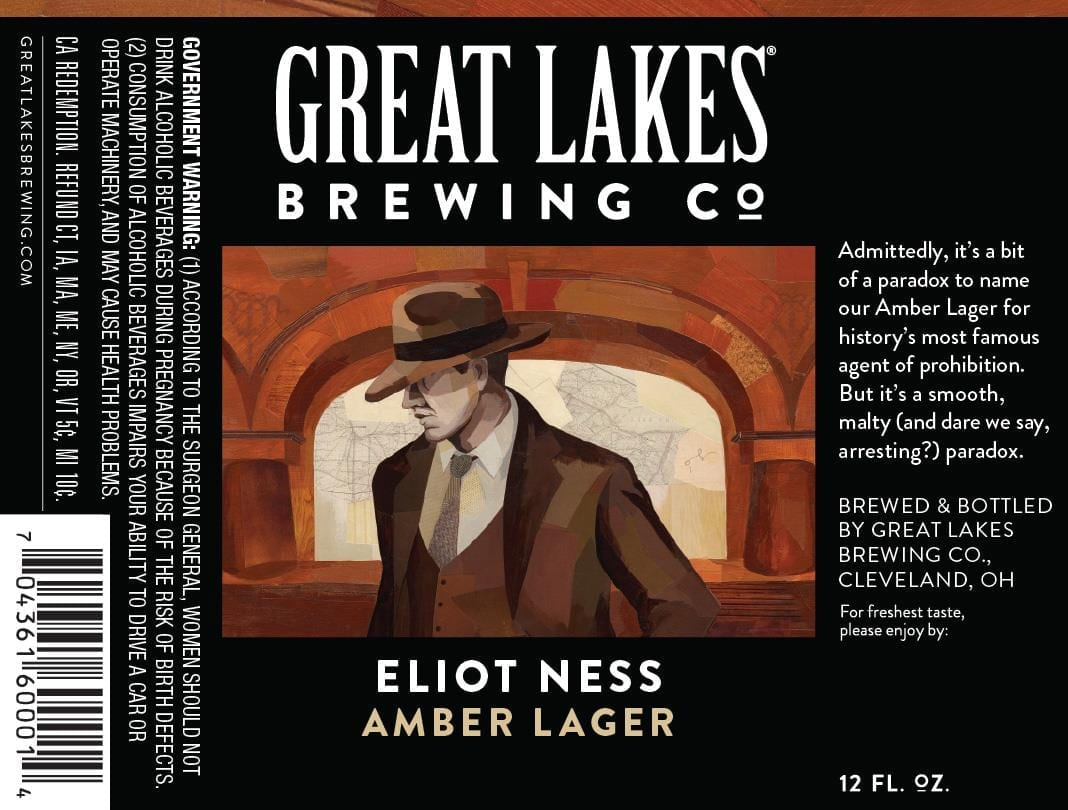 THE GREAT LAKES BREWING CO. ELIOT NESS
