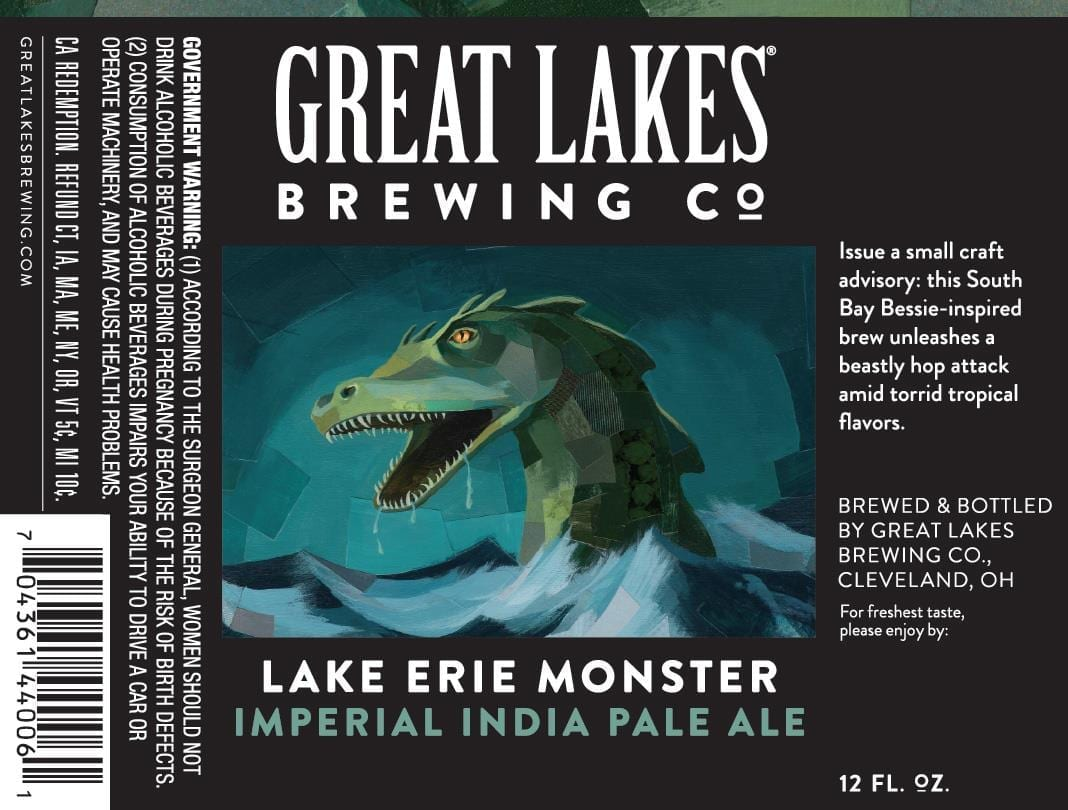 THE GREAT LAKES BREWING CO. LAKE ERIE MONSTER