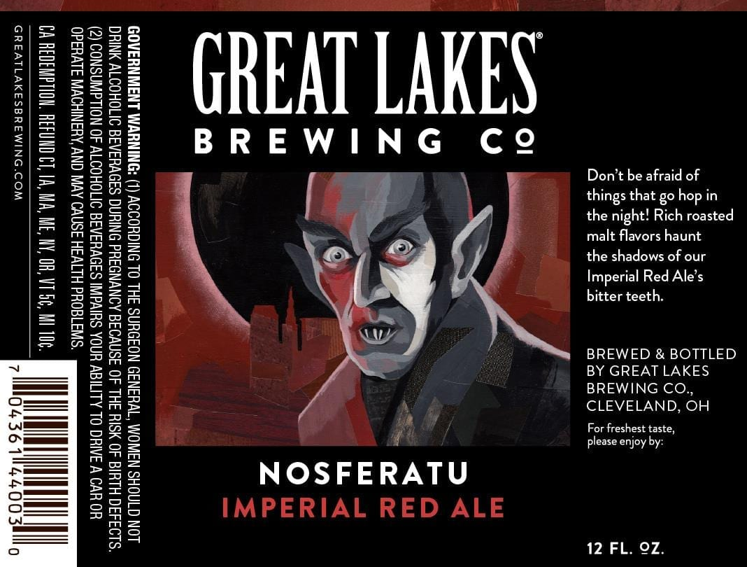 THE GREAT LAKES BREWING CO. NOSFERATU