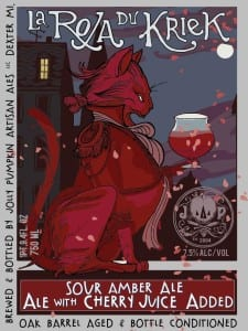La Roja Du Kriek Jolly Pumpkin Artisan Ales Sour Amber Ale