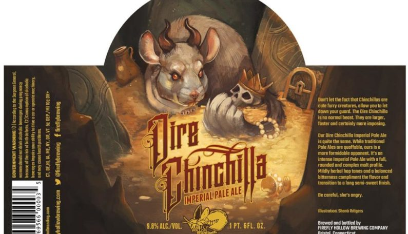Firefly Hollow Dire Chinchilla Imperial Pale Ale