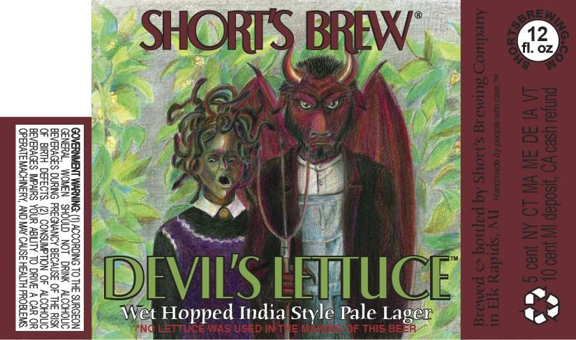 Short's Brew Devil's Lettuce India Style Pale Lager