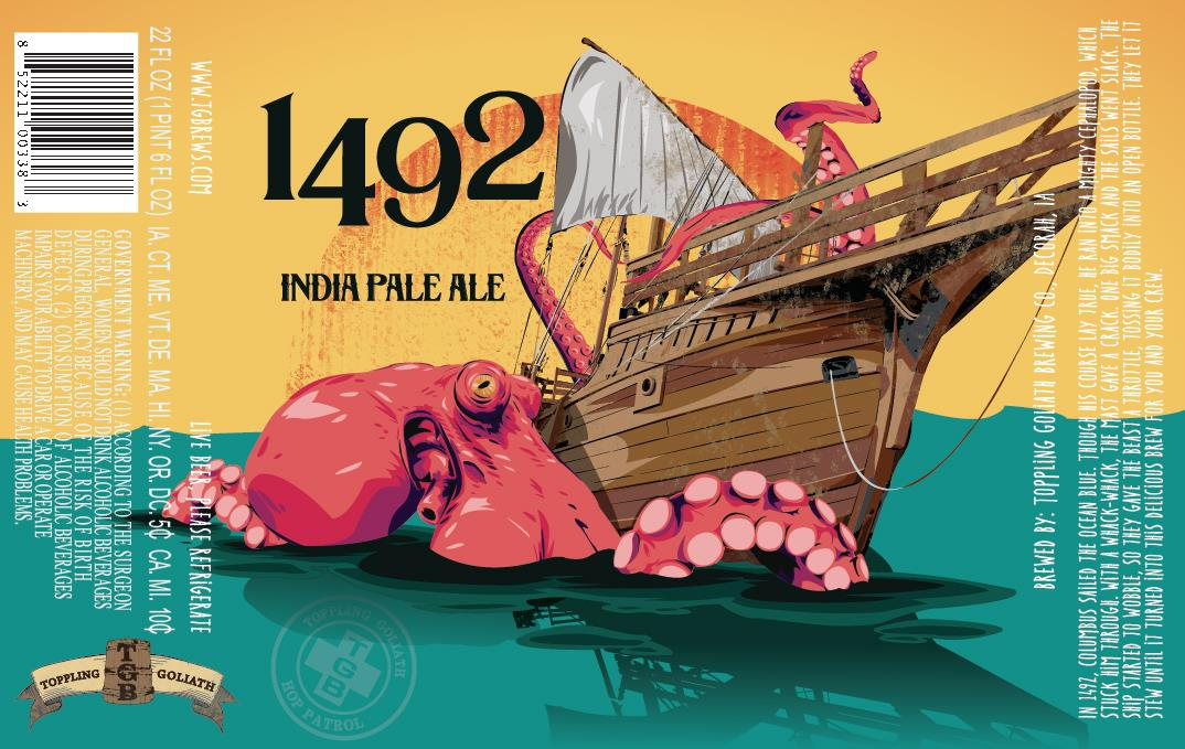 Toppling Goliath 1492 IPA