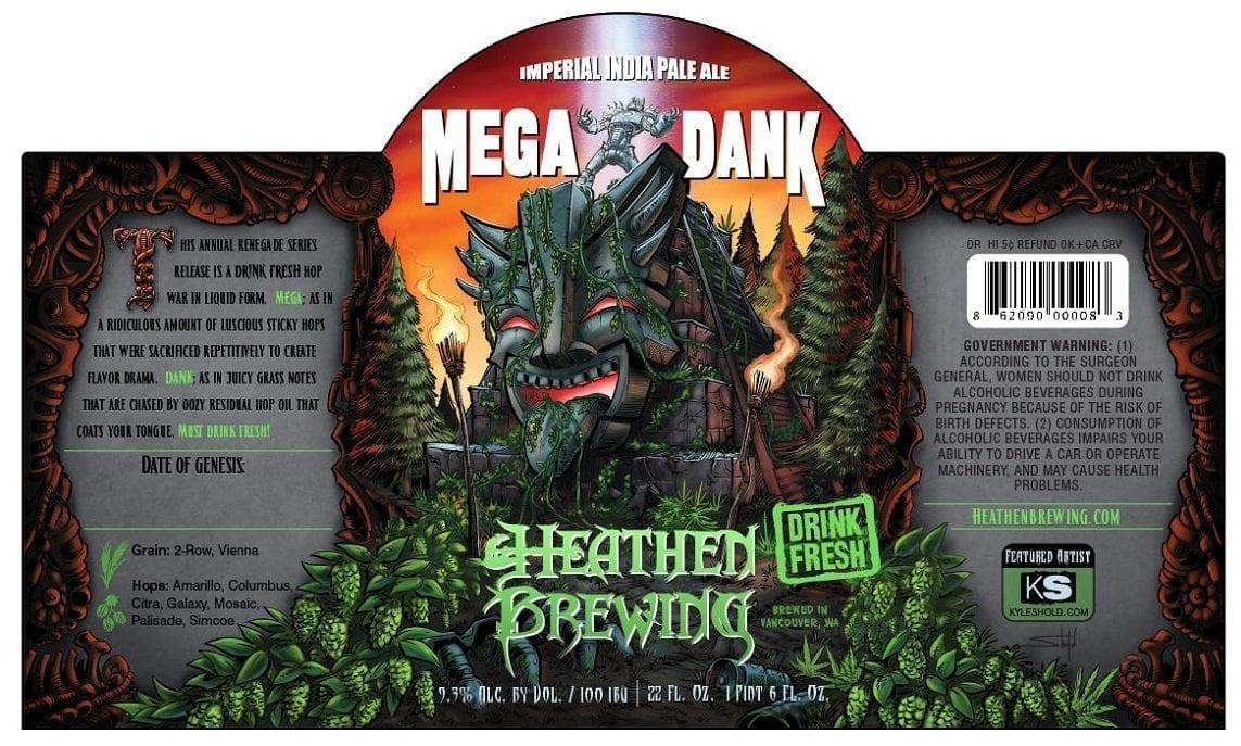 Heathen Brewing Megadank