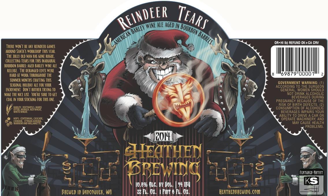 Heathen Brewing Reindeer Tears