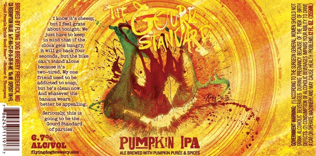 Flying Dog The Gourd Standard Pumpkin IPA