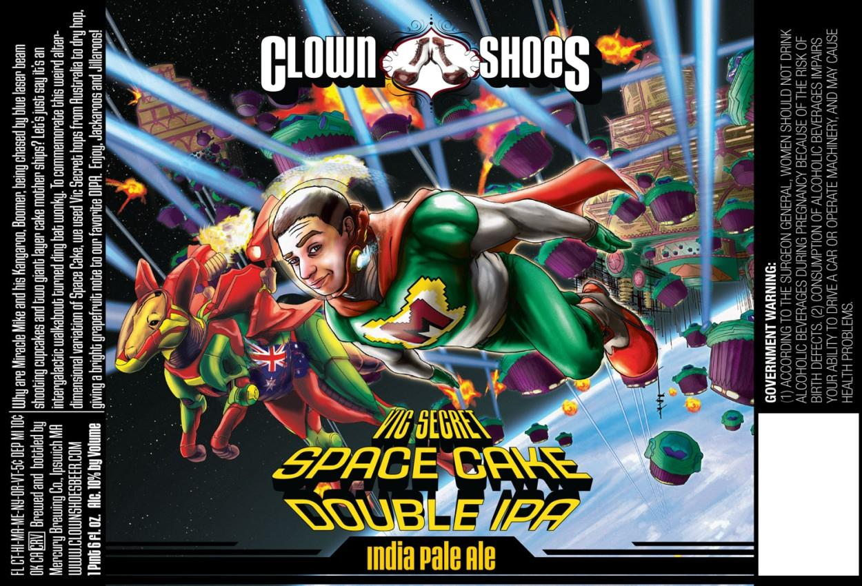 Clown Shoes Vic Secret Space Cake