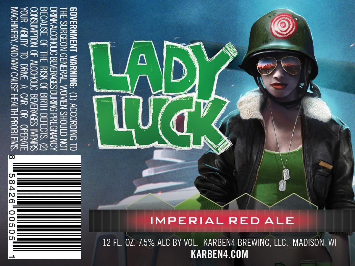 Karben4 Lady Luck Imperial Red Ale