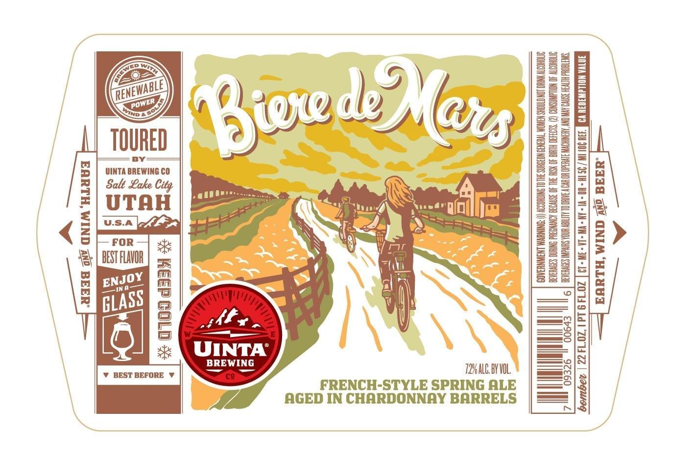Uinta Brewing Biere De Mars
