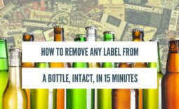 How to Remove Bottle Labels, Intact, in 15 Minutes