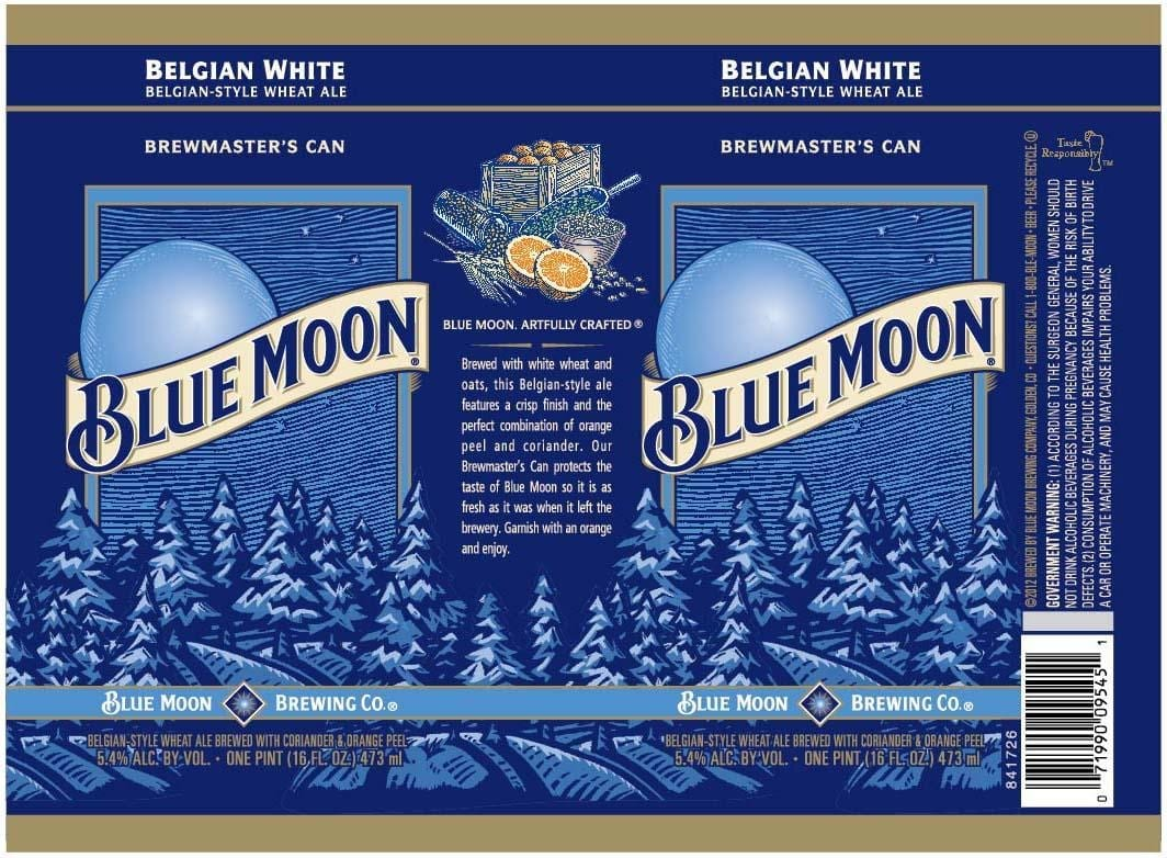 Old Blue Moon Belgian White
