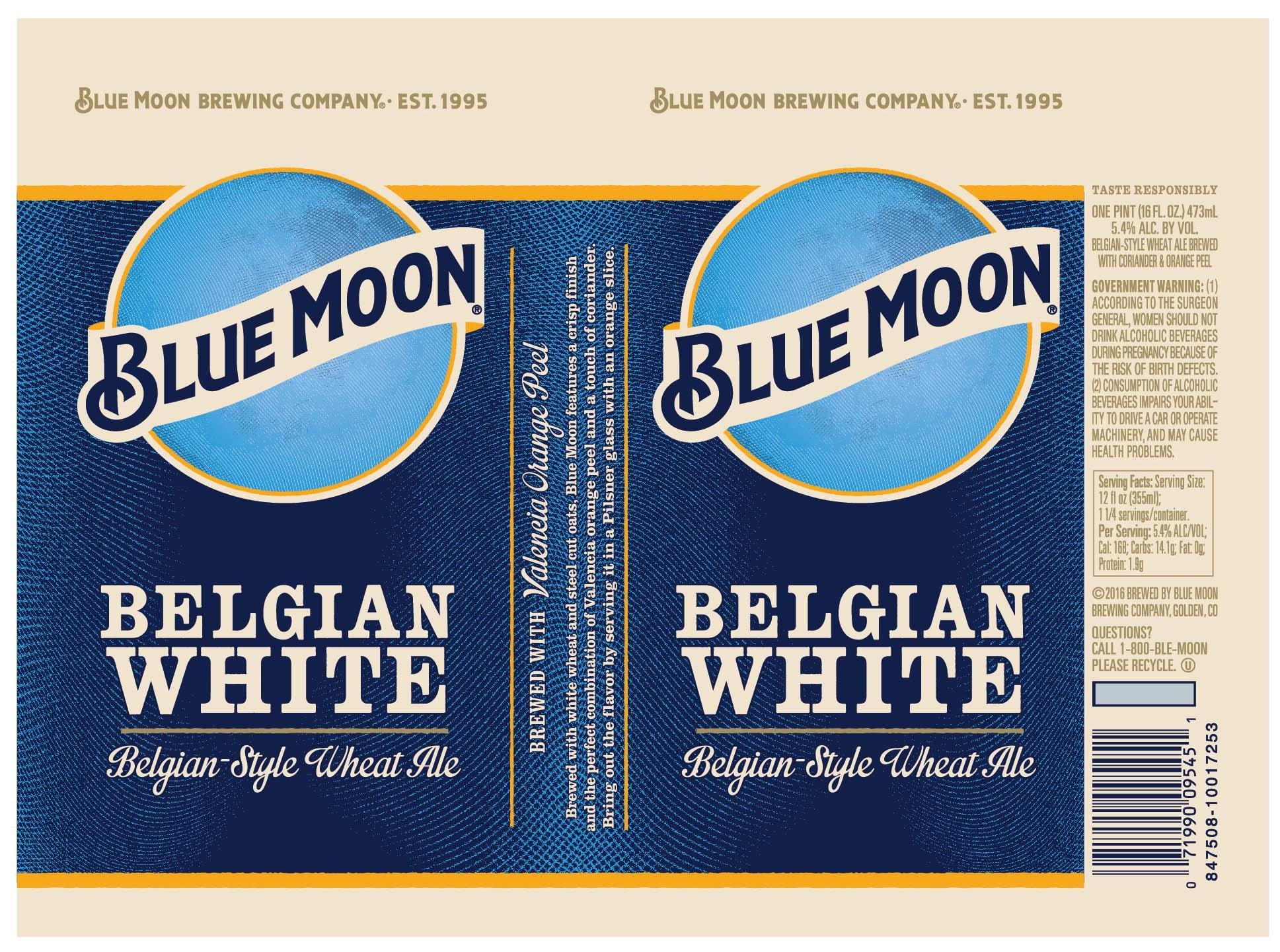 New Blue Moon Belgian White