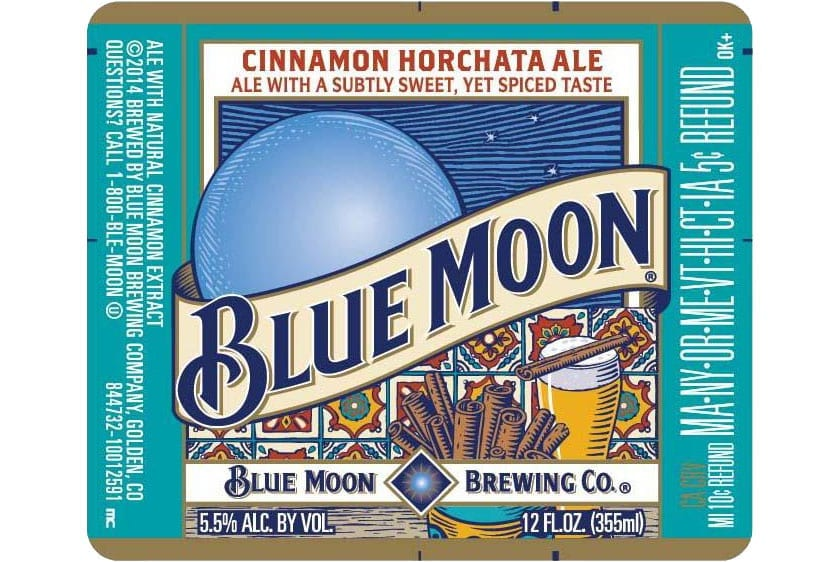 Old Blue Moon Summer Cinnamon Horchata
