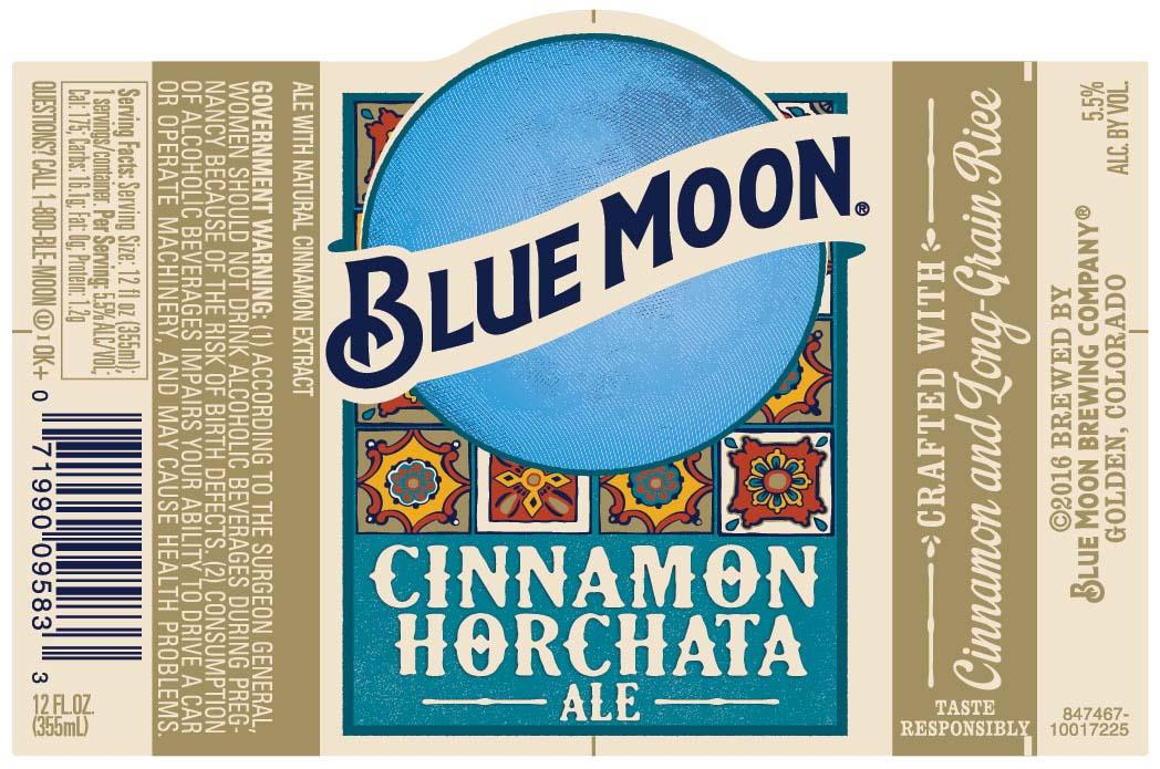 New Blue Moon Cinnamon Horchata