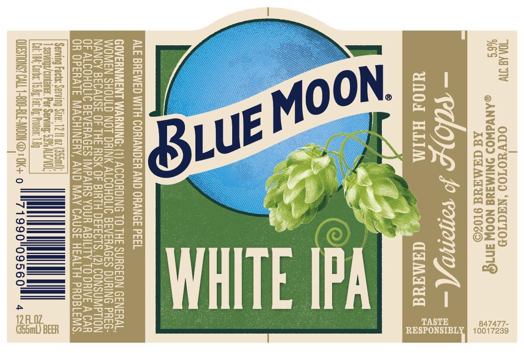 New Blue Moon White IPA