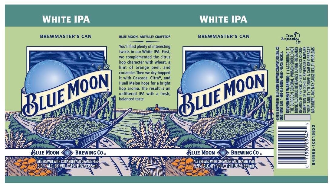 Old Blue Moon White IPA
