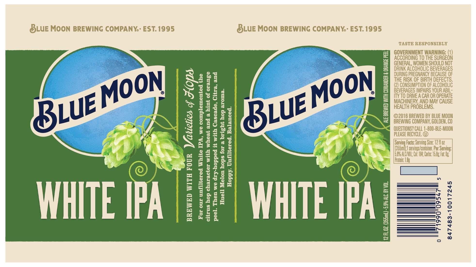 New Blue Moon White IPA