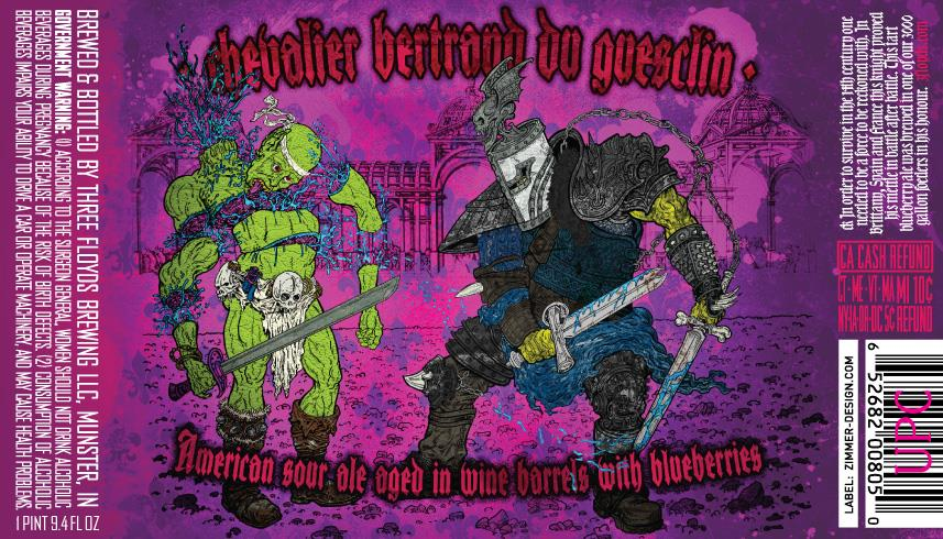 THREE FLOYDS BREWING CHEVALIER BERTRAND DU GUESCLIN