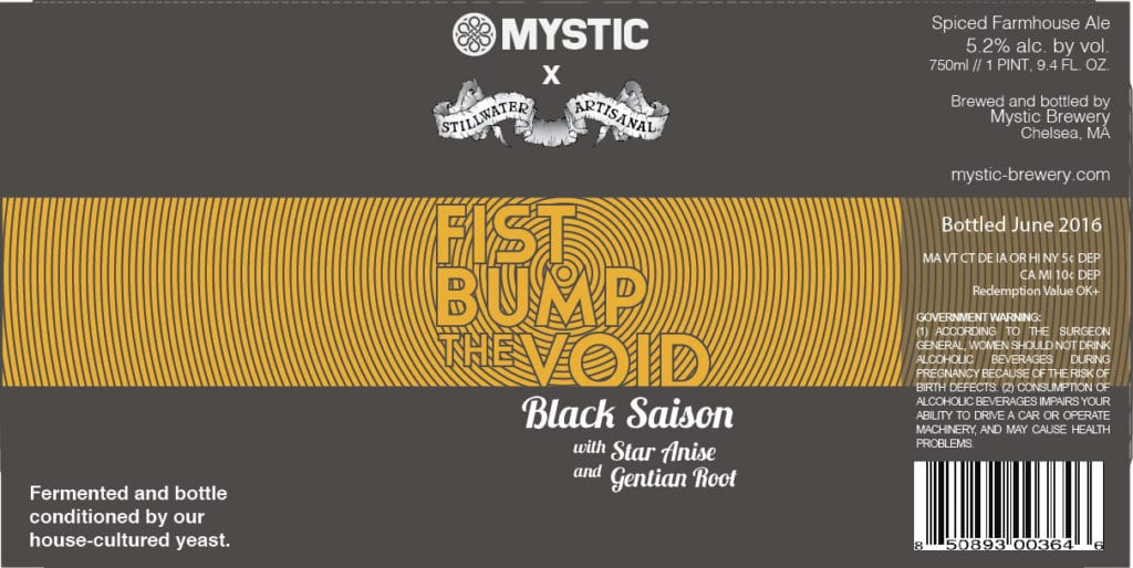 Mystic Brewery Fist Bump The Void