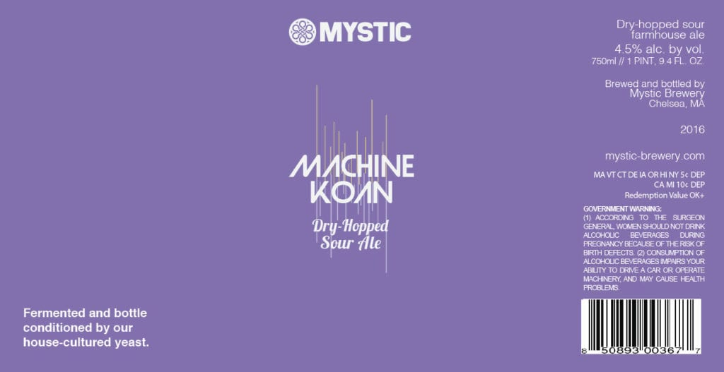 Mystic Brewery Machine Koan