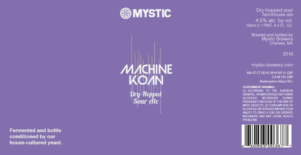 Mystic Brewery Machine Koan