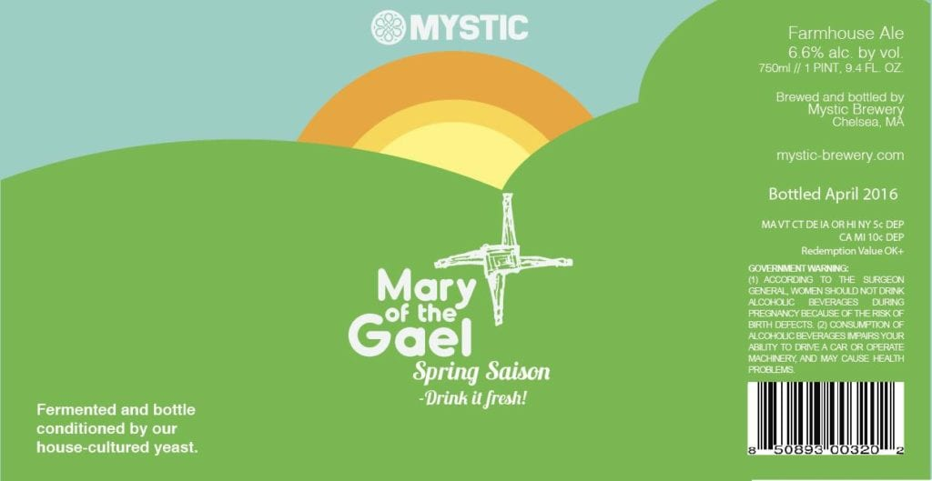 Mystic Brewery Mary of the Gael